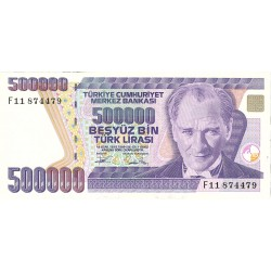 Turquia 500000. 1. 1993. (s/f). SC. (F). PIK. 208