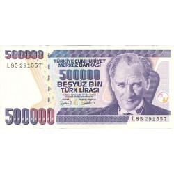 Turquia 500000. 1. 1998. (s/f). SC. PIK. 212