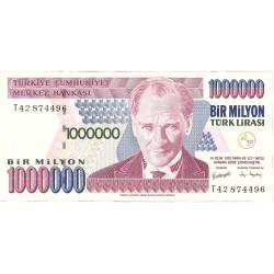 Turquia 1000000. 1. 1995. (s/f). SC. PIK. 213