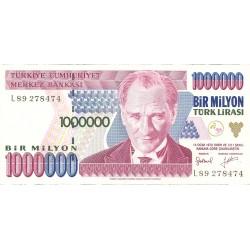 Turquia 1000000. 1. 1995. (s/f). SC. PIK. 209