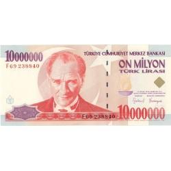 Turquia 10000000. 1. 1999. (s/f). SC. PIK. 214