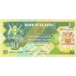 Uganda 10. 1. 1987. SC. PIK. 28