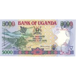 Uganda 5000. 1. 2002. SC. PIK. 40