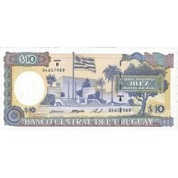Uruguay 10. 1. 1995. (s/f). SC. PIK. 73 B.b