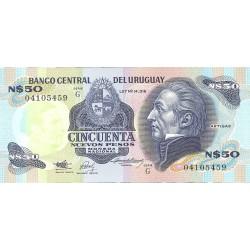 Uruguay 50. 1. 1989. (s/f)-G. SC. PIK. 61 A
