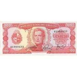 Uruguay 100. 1. 1975. (s/f). SC. PIK. 47 a