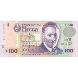 Uruguay 100. 1. 2003. SC. PIK. 85