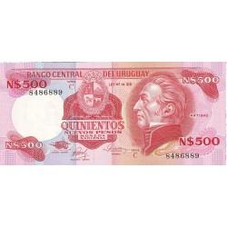 Uruguay 500. 1. 1985. (s/f)-C. SC. PIK. 63 b