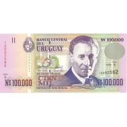 Uruguay 100000. 1. 1991. SC. PIK. 71