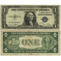 Usa 1. 1. 1935. D-(Certif.de Plata). RC+/BC-. (G.Washington). Bastante usado. PIK. 416D2