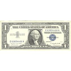 Usa 1. 1. 1957. A-(Certif.de Plata). EBC/EBC+. (G.Washington)-(E-A/A4). Lev.uso. PIK. 419