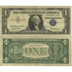 Usa 1. 1. 1957. -(Certif.de Plata). BC. (G.Washington). Bastante usado. PIK. 419