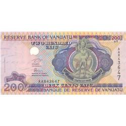 Vanuatu 200. 1. 1995. (s/f). SC. PIK. 8