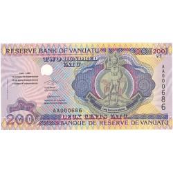 Vanuatu 200. 1. 1995. (s/f). SC. RARO/A. PIK. 9