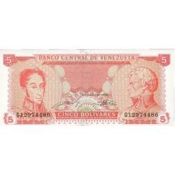 Venezuela 5. 1. 1989. 21-09. SC. PIK. 70 b