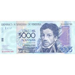 Venezuela 5000. 1. 2002. 13-08. SC. PIK. 91