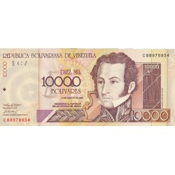 Venezuela 10000. 1. 2002. 13-08. SC. PIK. 92