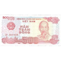 Vietnam.-Rep.Soc. 500. 1. 1988. SC. PIK. 101 a