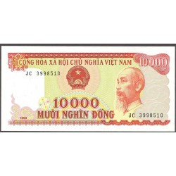 Vietnam.-Rep.Soc. 10000. 1. 1993. SC. PIK. 115 a