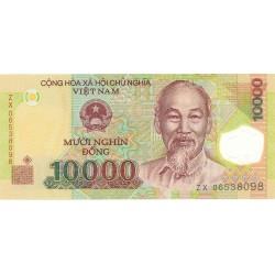 Vietnam.-Rep.Soc. 10000. 1. 2006. SC. (Polymer). PIK. Nuevo