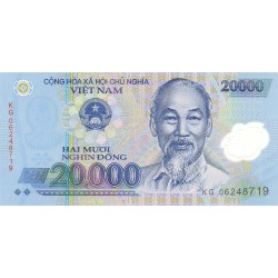 Vietnam.-Rep.Soc. 20000. 1. 2006. SC. (Polymer). PIK. Nuevo