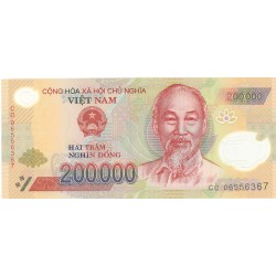 Vietnam.-Rep.Soc. 200000. 1. 2006. SC. (Polymer). PIK. Nuevo