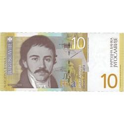 Yugoslavia 10. 1. 2001. SC. PIK. 153