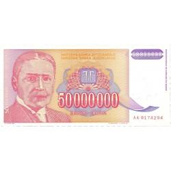 Yugoslavia 50000000. 1. 1993. SC. PIK. 133 a