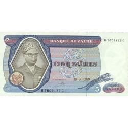 Zaire-(Ex.Congo)-(1971/97) 5. 1. 1979. 20-05. SC. PIK. 22 a