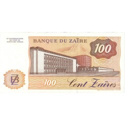 Zaire-(Ex.Congo)-(1971/97) 100. 1. 1985. 30-06. SC. PIK. 29 b