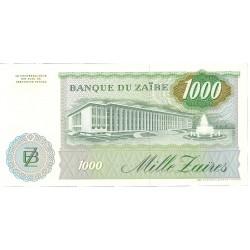 Zaire-(Ex.Congo)-(1971/97) 1000. 1. 1985. 24-11. SC. PIK. 31