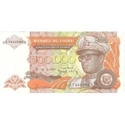 Zaire-(Ex.Congo)-(1971/97) 500000. 1. 1992. 15-03. SC. PIK. 43 a