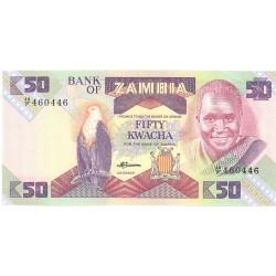 Zambia 50. 1. 1986. (s/f). SC. PIK. 28