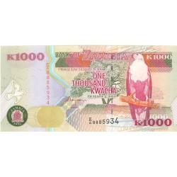 Zambia 1000. 1. 1992. SC. PIK. 40
