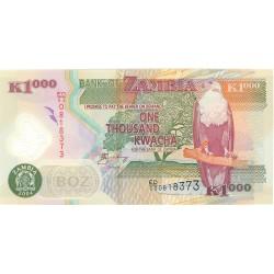 Zambia 1000. 1. 2004. SC. (Polymer)