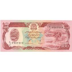Afghanistan 100 Afgani. 1991. (Sh-1370). SC. PIK. 58 c