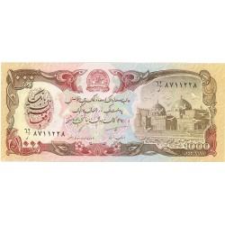 Afghanistan 1000 Afgani. 1991. (Sh-1370). SC. PIK. 61 c