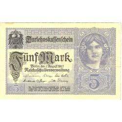 Alemania Estados 20 Marcos. 1917. MBC. PIK. 56 b