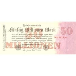 Alemania Weimar-(1919/33) 50000000 Marcos. 1923. 25 Julio. SC. (Serie 10P). (Impreso solo anverso). PIK. 98