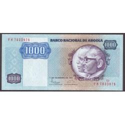 Angola 1000 Kwanzas. 1987. SC. PIK. 121