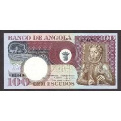 Angola 100 Escudos. 1973. SC. PIK. 106