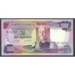Angola 1000 Escudos. 1972. SC. PIK. 103