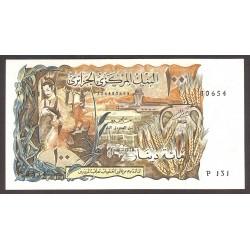 Argelia 100 Dinar. 1970. SC. PIK. 128