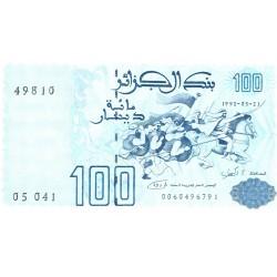 Argelia 100 Dinar. 1992. 21-05-(1996). SC. PIK. 137