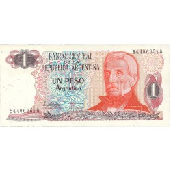 Argentina 1 Pesos. 1983. (s/f). SC. PIK. 311 a