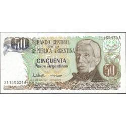 Argentina 50 Pesos. 1983. (s/f). SC. PIK. 314