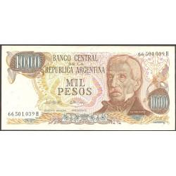 Argentina 1000 Pesos. 1976. (s/f). SC. PIK. 304