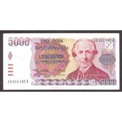 Argentina 5000 Pesos. 1984. SC. (Serie A). PIK. 318