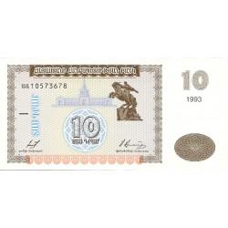 Armenia 10 Drams. 1993. SC. PIK. 33