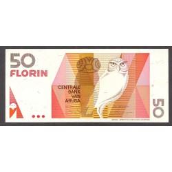 Aruba 50 Florin. 1990. SC. PIK. 9